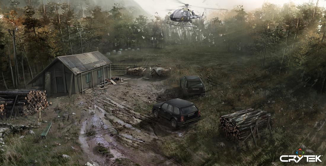 Tvůrci Crysis odhalili artworky ze zrušené hry 69772