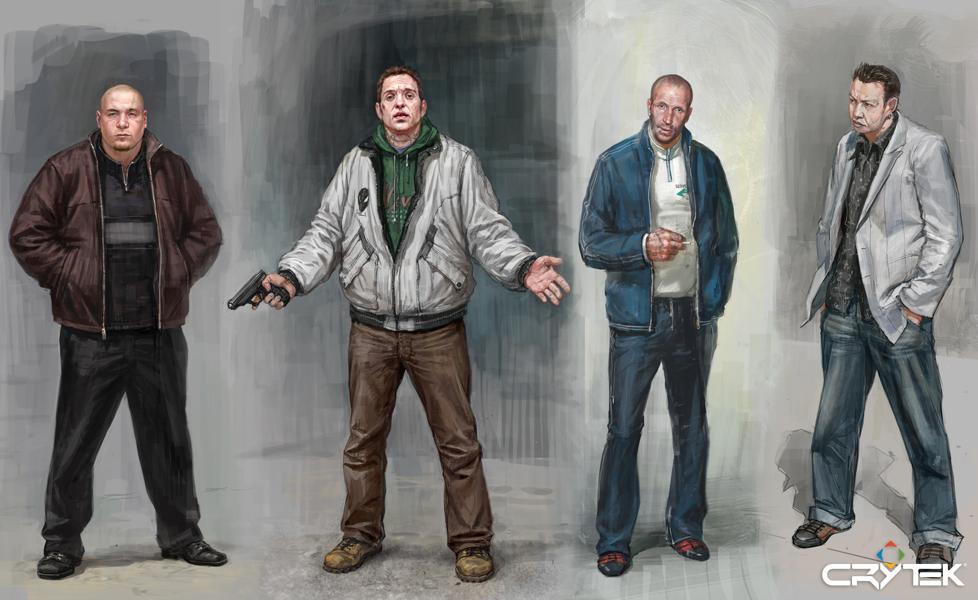 Tvůrci Crysis odhalili artworky ze zrušené hry 69796
