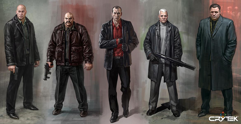 Tvůrci Crysis odhalili artworky ze zrušené hry 69797