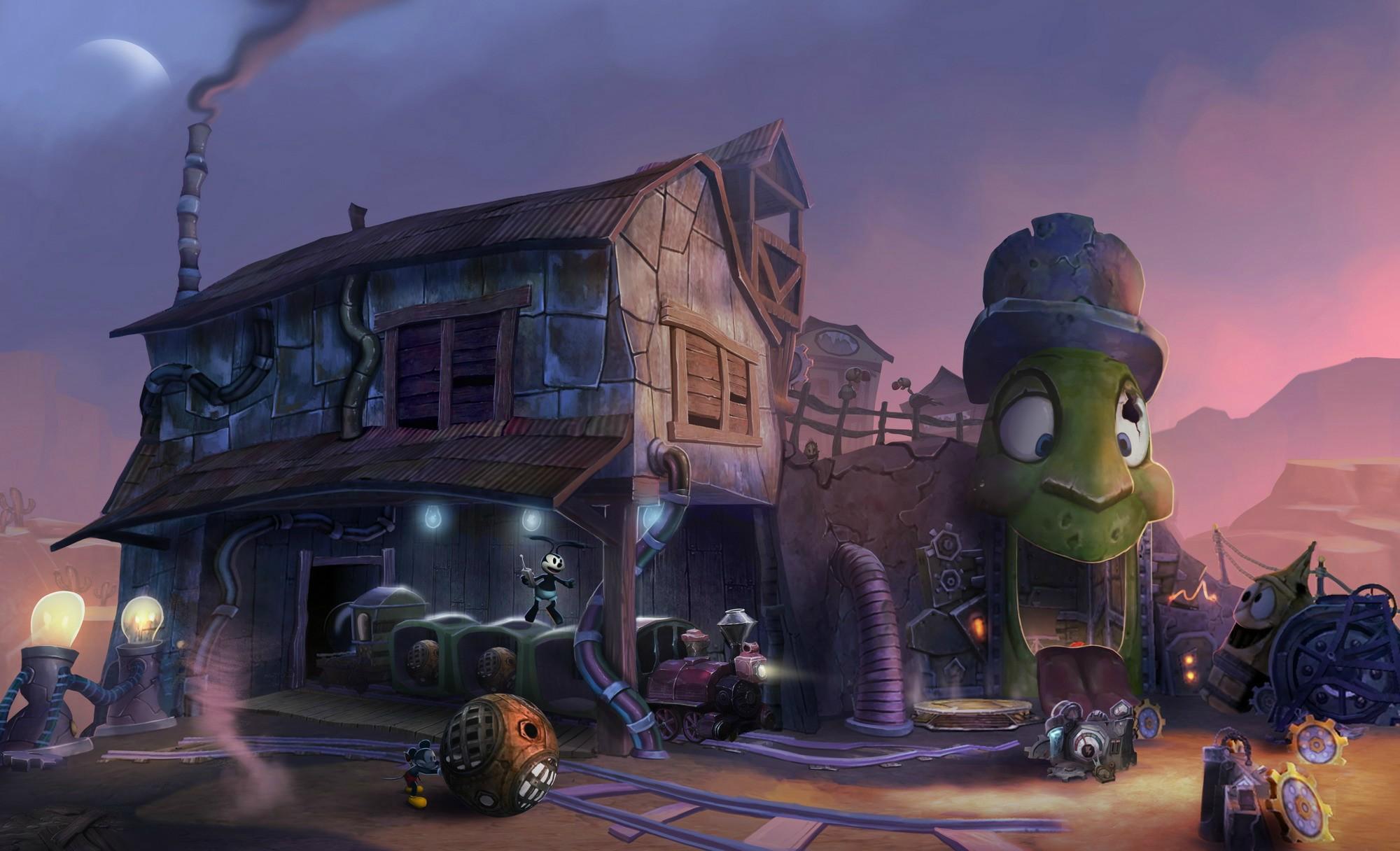 Gameplay záběry z Epic Mickey 2 69842
