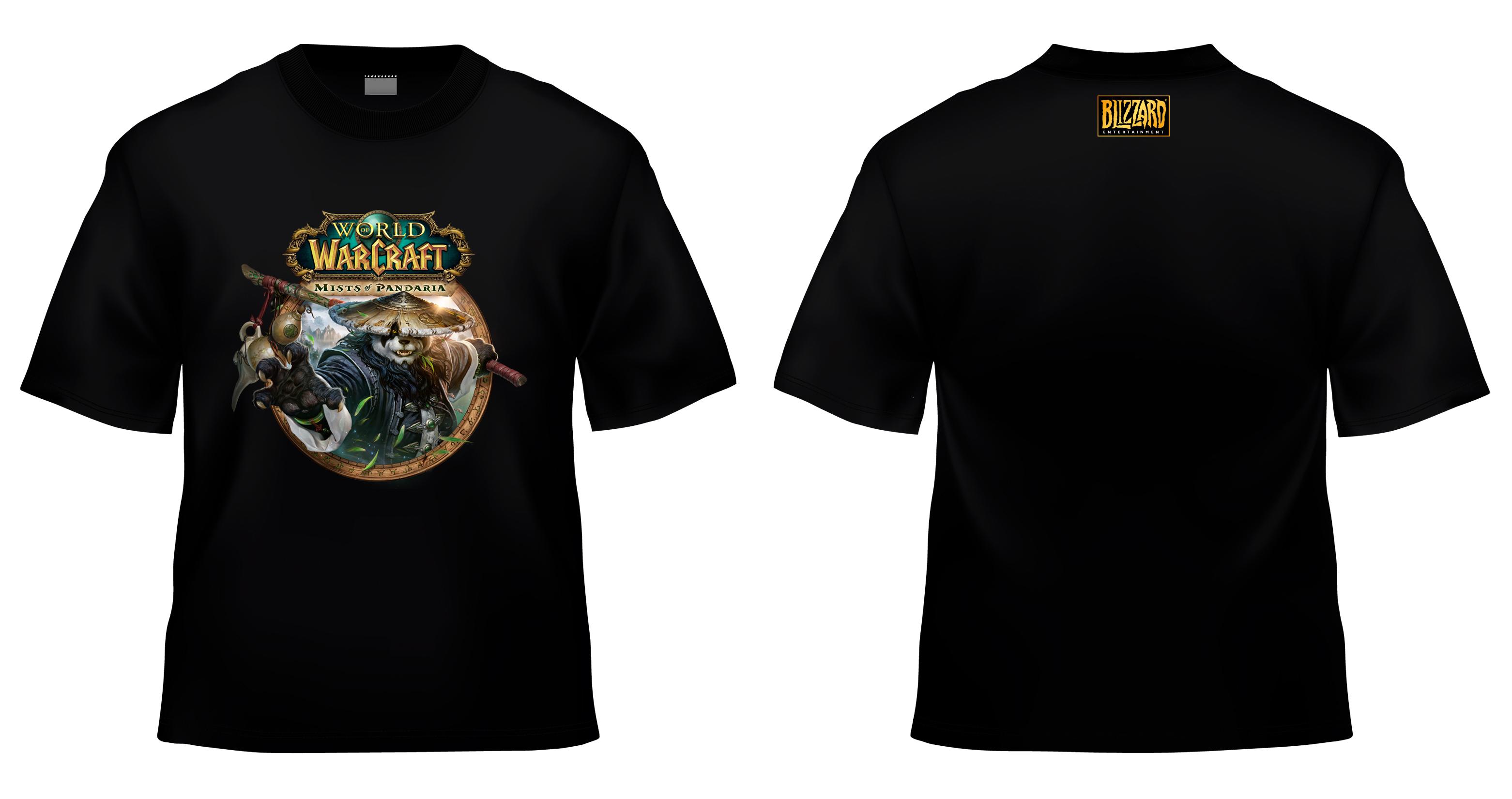 Tričko a plakát k World of Warcraft: Mists of Pandaria 69927