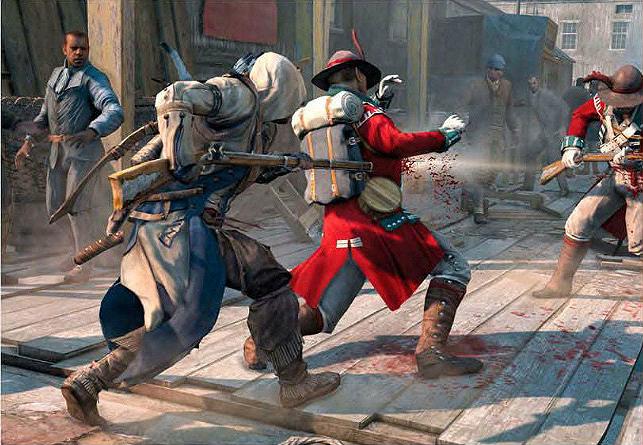 Nové obrázky z Assassin's Creed 3 70043