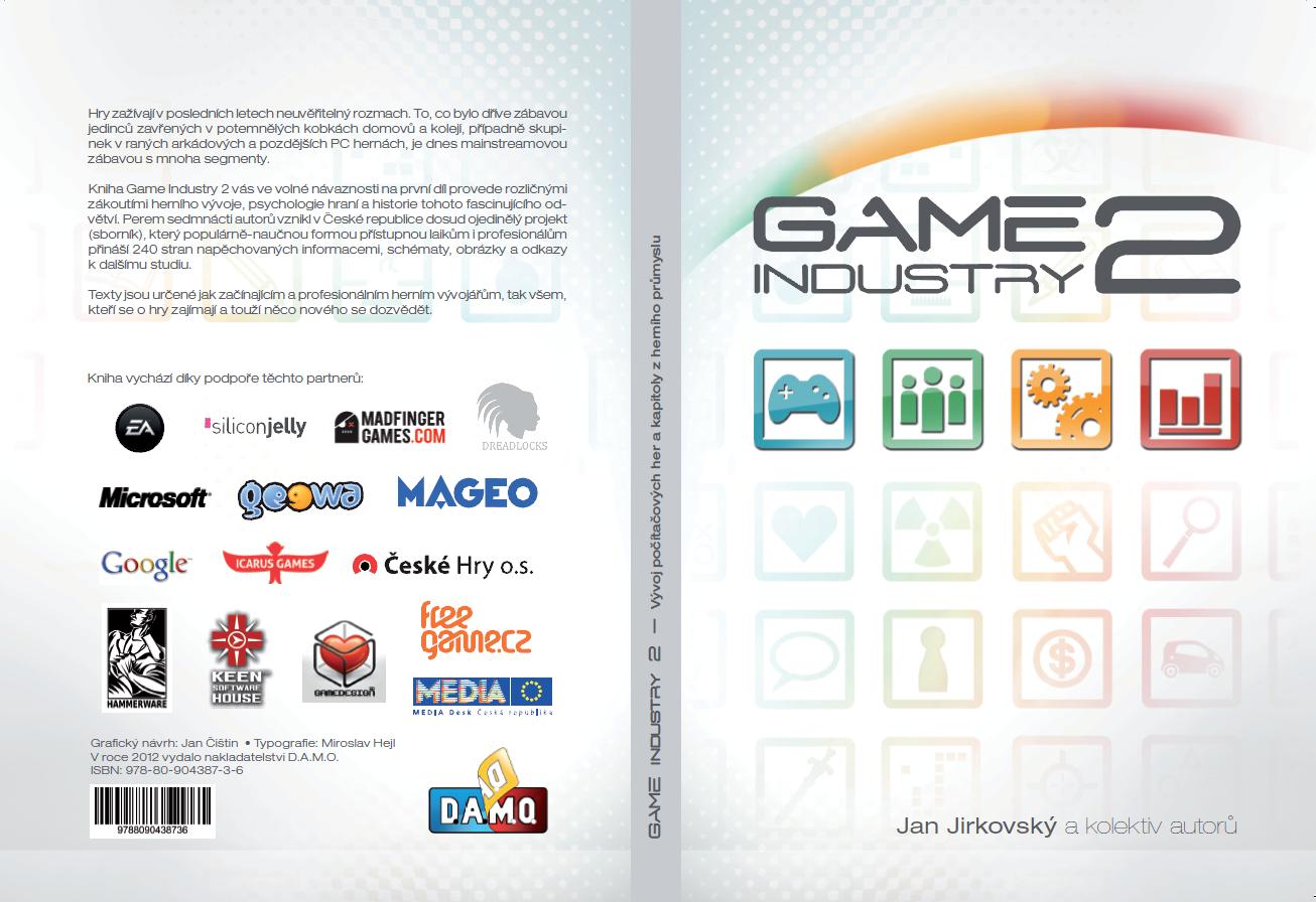 Kniha Game Industry 2 vychází již příští čtvrtek 70050