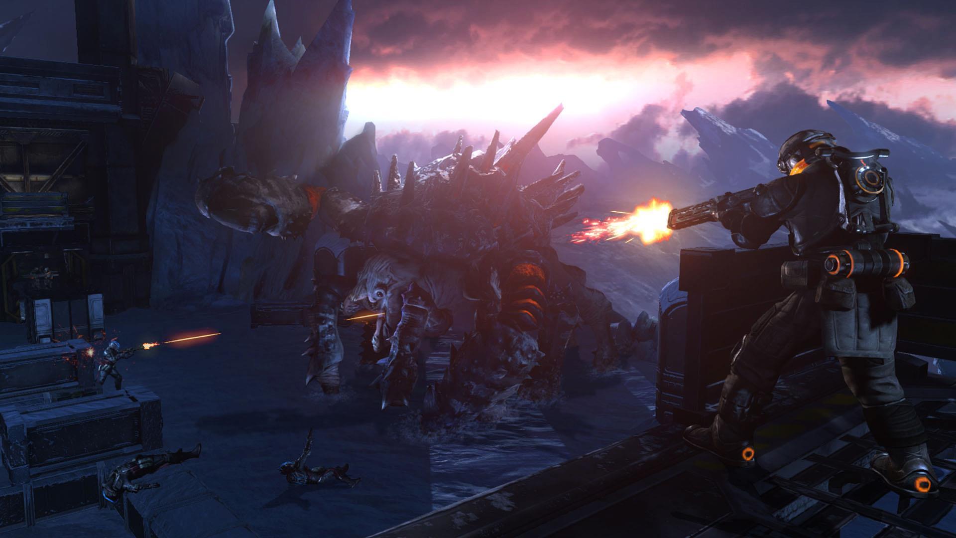 První obrázek z multiplayeru Lost Planet 3 70091