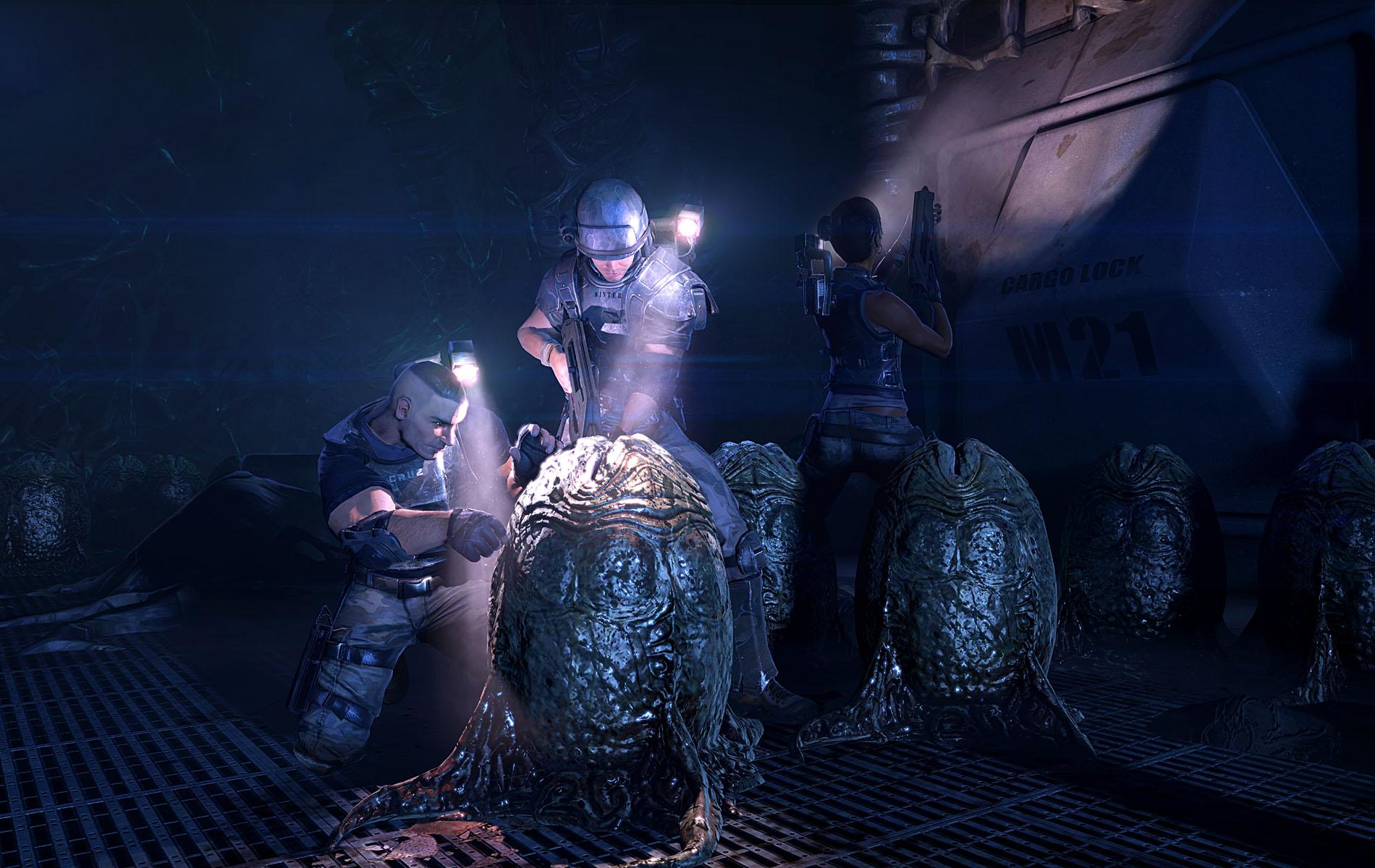 Screenshoty z Aliens: Colonial Marines 70138
