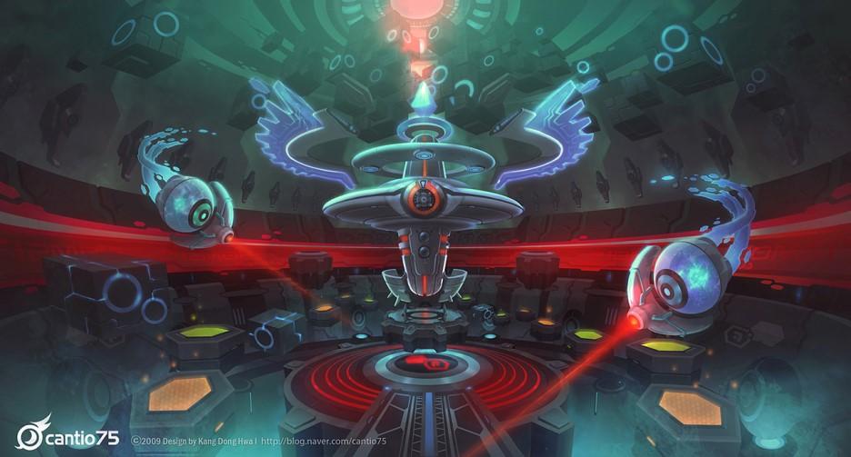 Koncepční artworky z Mega Man Online 70156