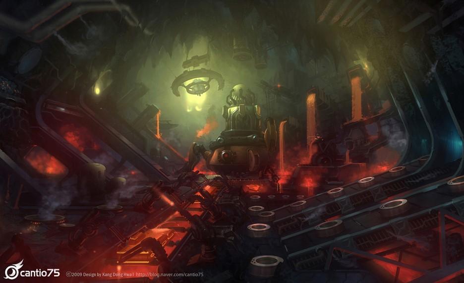 Koncepční artworky z Mega Man Online 70157