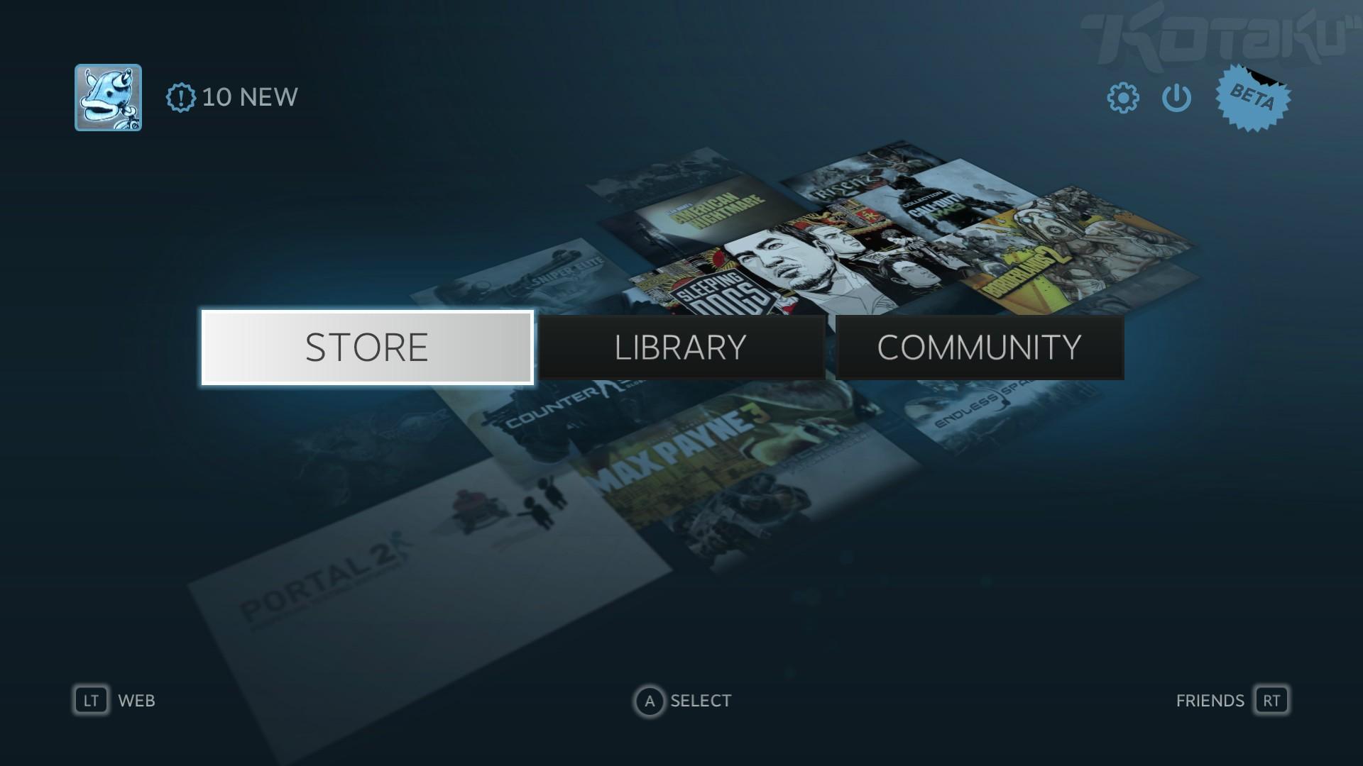 Dnes startuje beta Steam Big Picture módu 70190