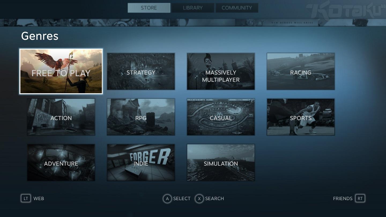 Dnes startuje beta Steam Big Picture módu 70191