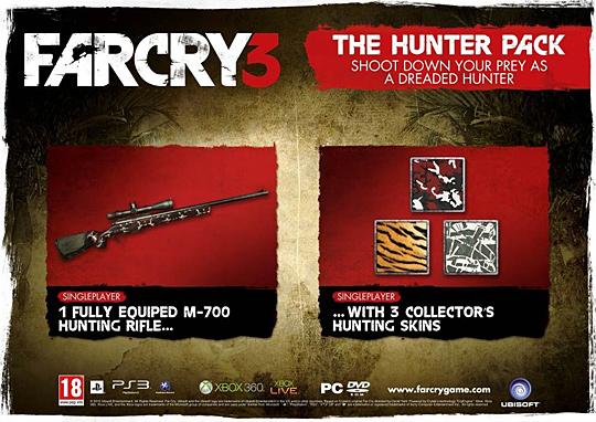 Balíček lovce k předobjednávkám Far Cry 3 70471