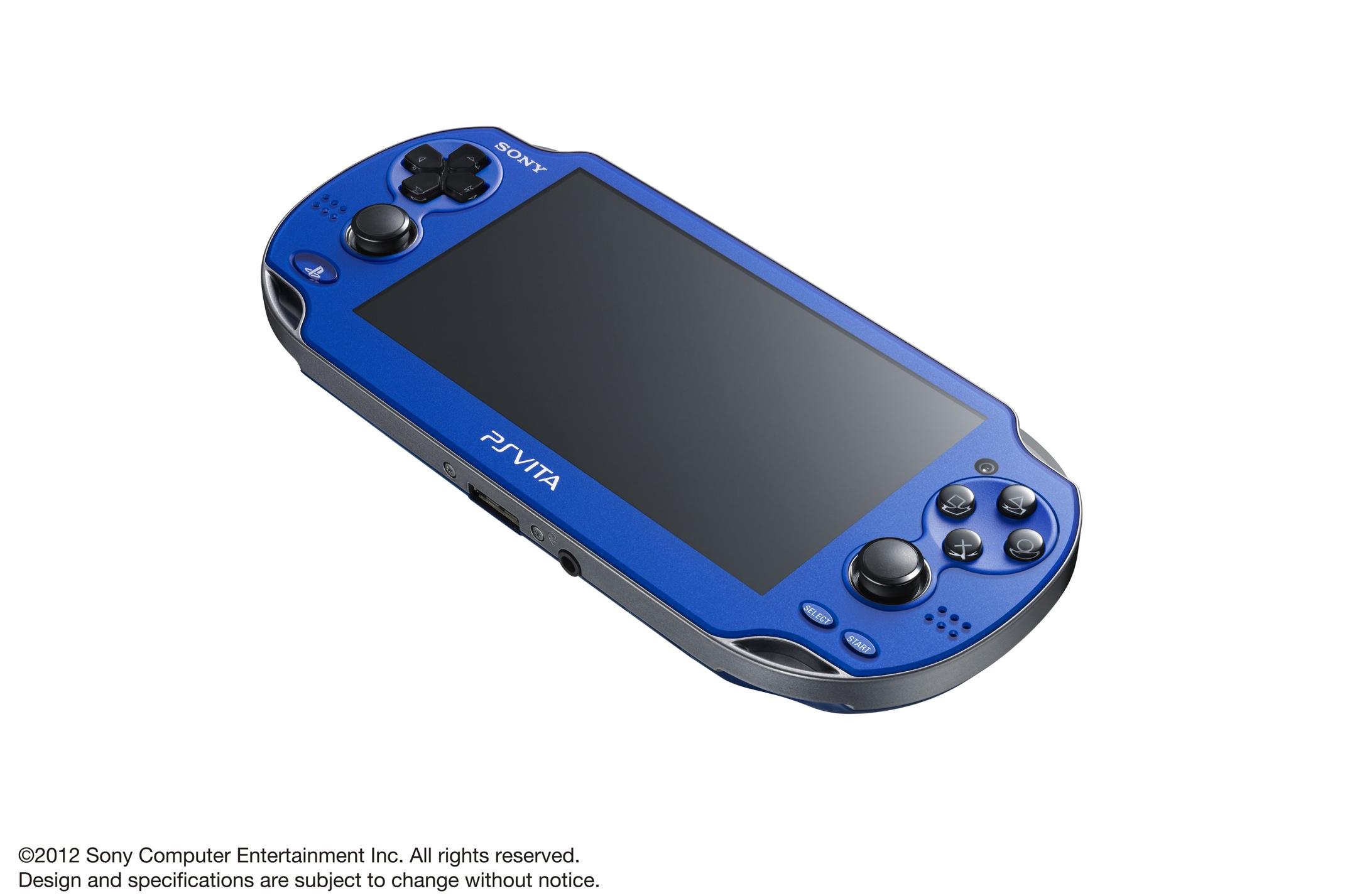 Modrá a červená verze PlayStation Vita 70600