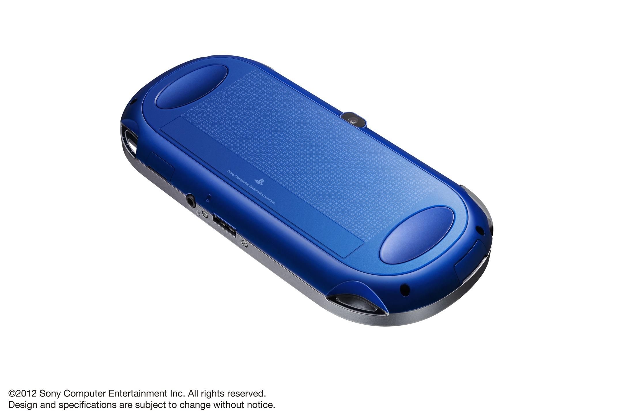 Modrá a červená verze PlayStation Vita 70601