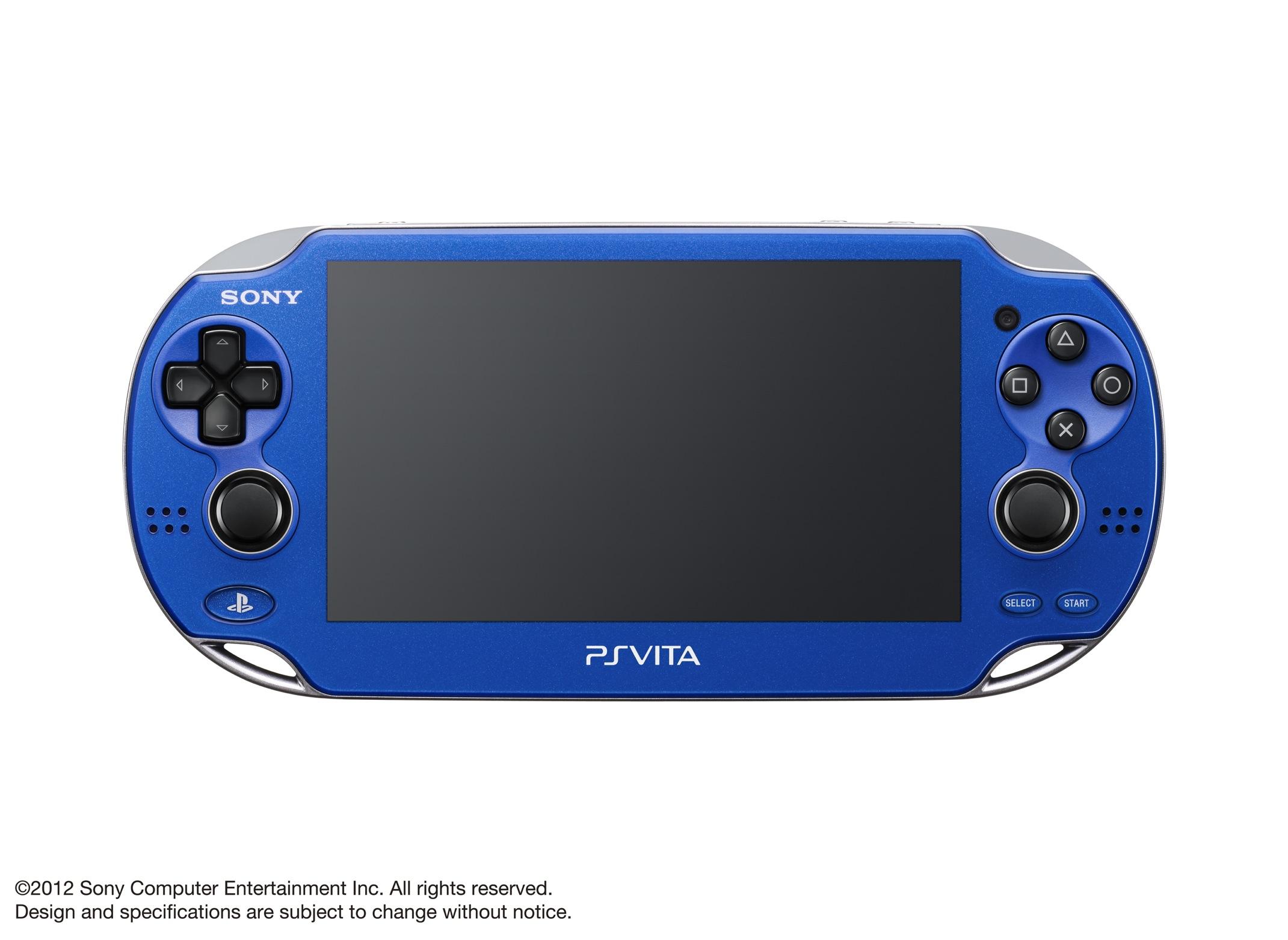 Modrá a červená verze PlayStation Vita 70602