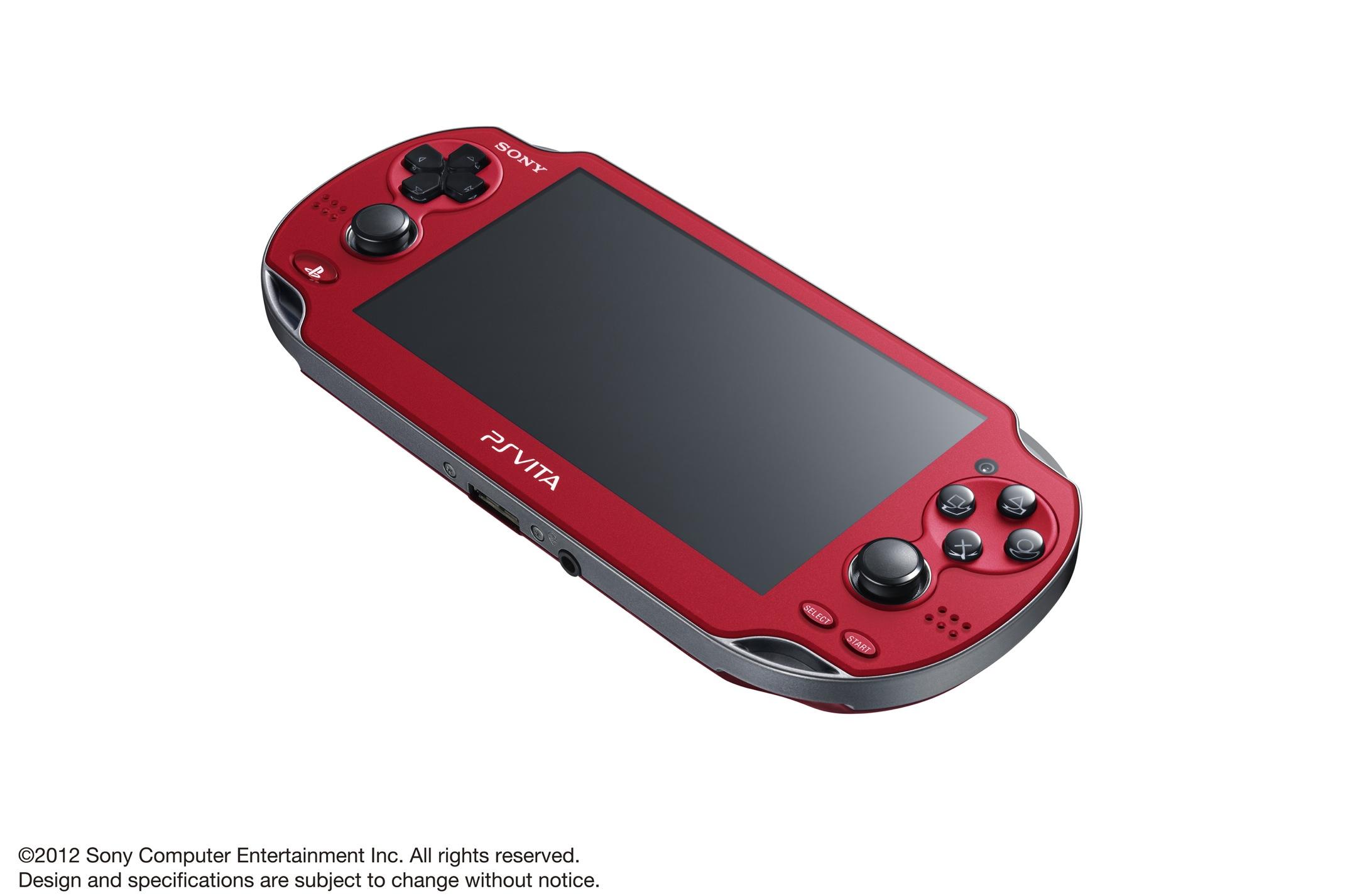 Modrá a červená verze PlayStation Vita 70608