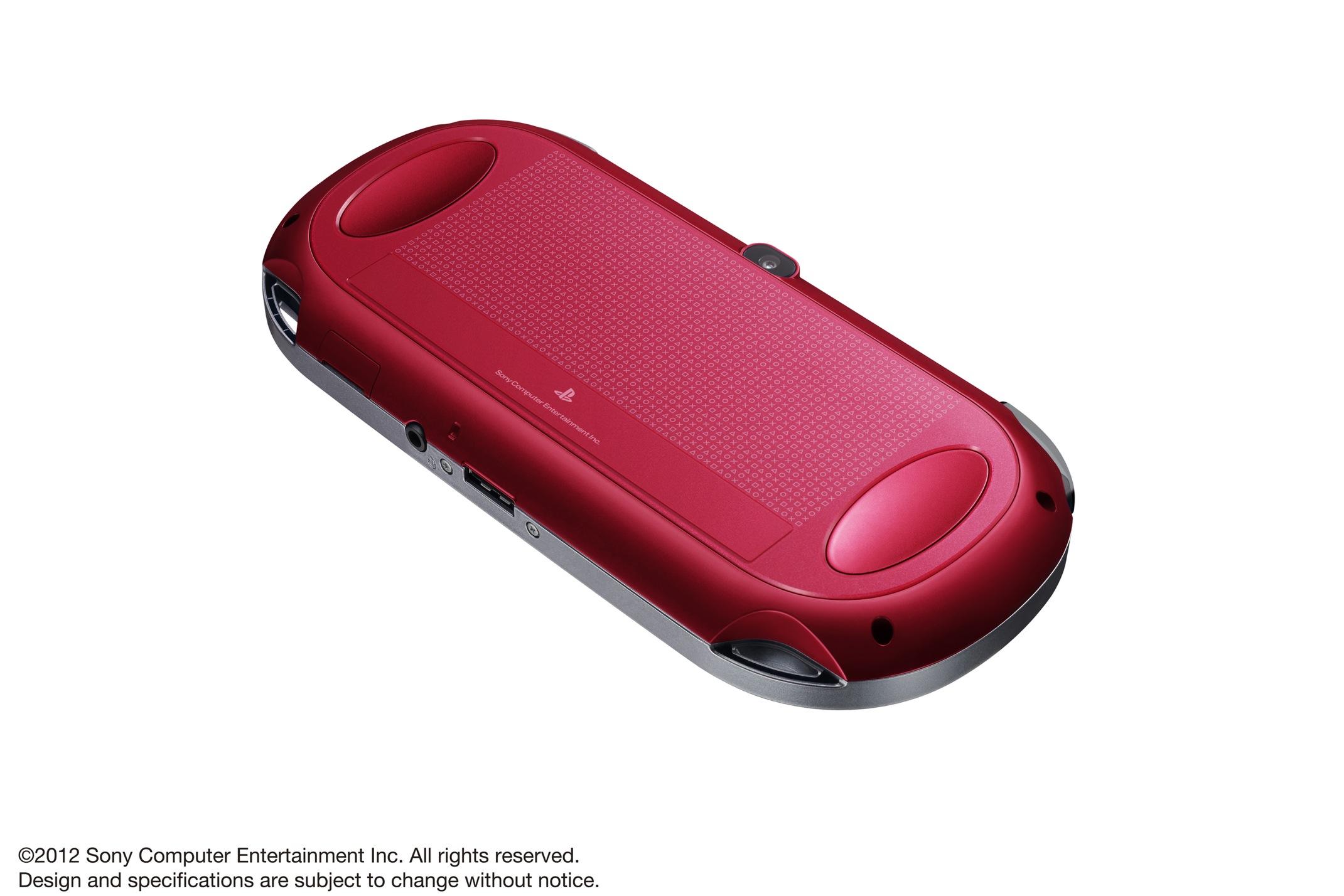Modrá a červená verze PlayStation Vita 70611