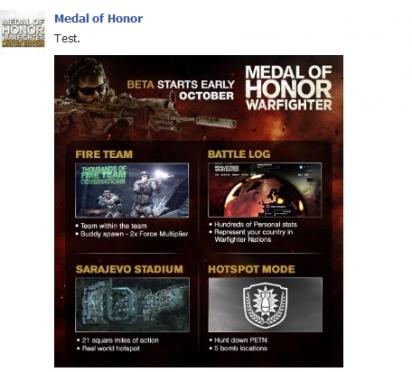 Veřejná beta MoH: Warfighter exkluzivně pro Xbox 360 70719