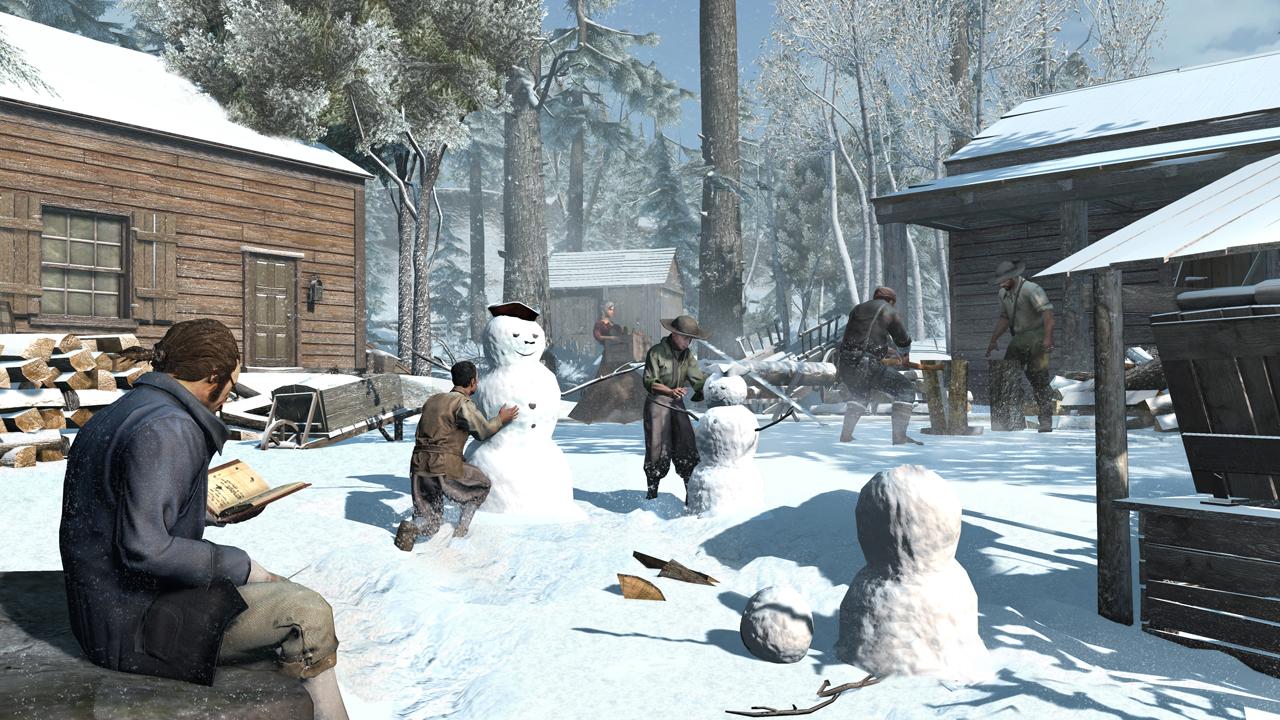 Krásné momentky z Assassin's Creed 3 70759