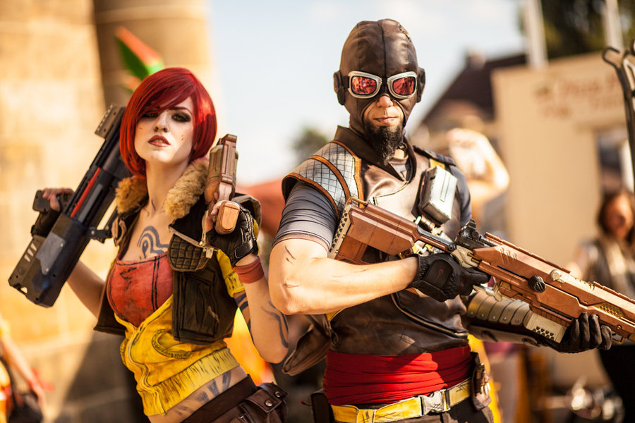 Povedený cosplay Borderlands 70766