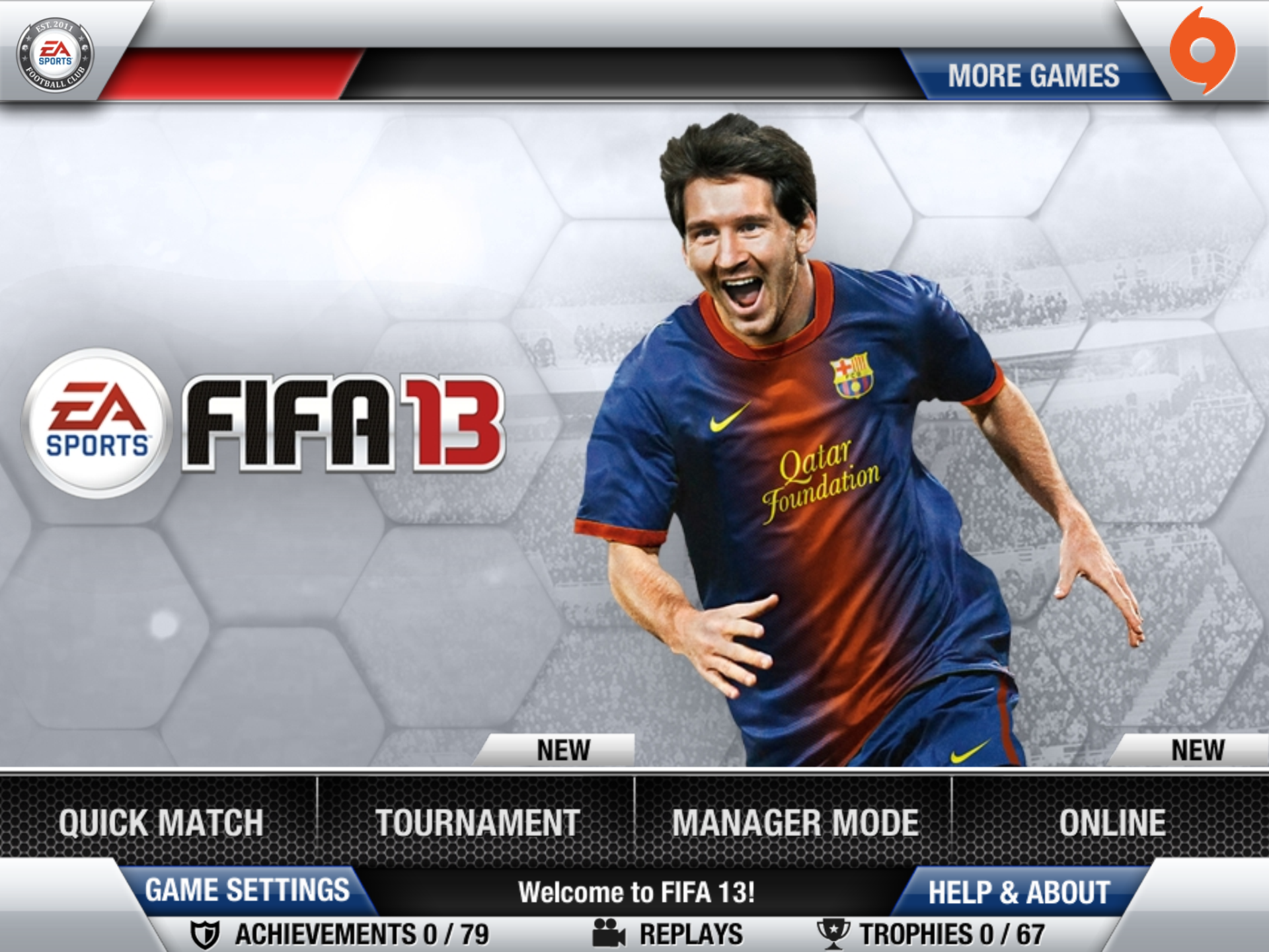 Obrázky z iOS verze FIFA 13 70826