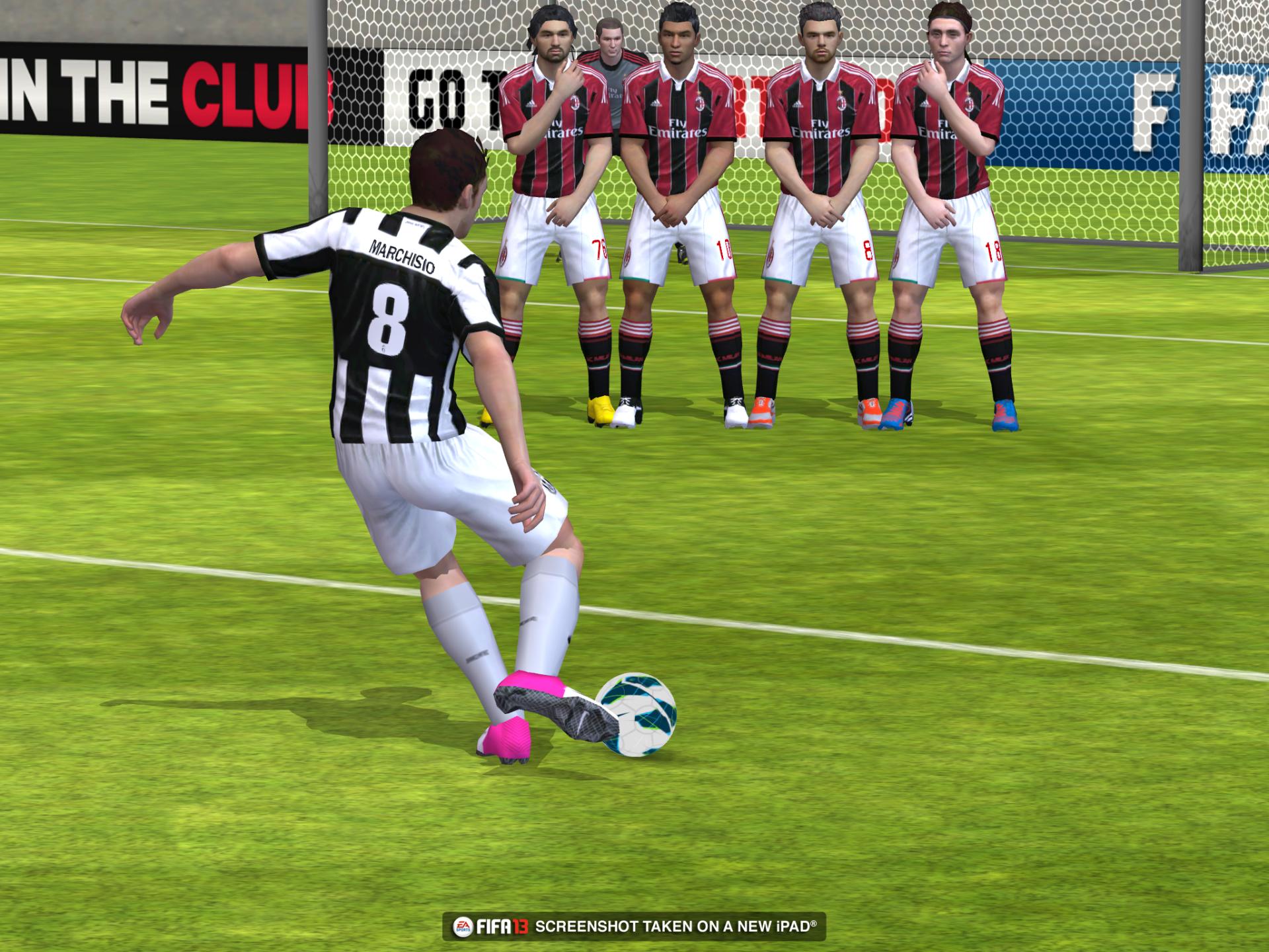 Obrázky z iOS verze FIFA 13 70827
