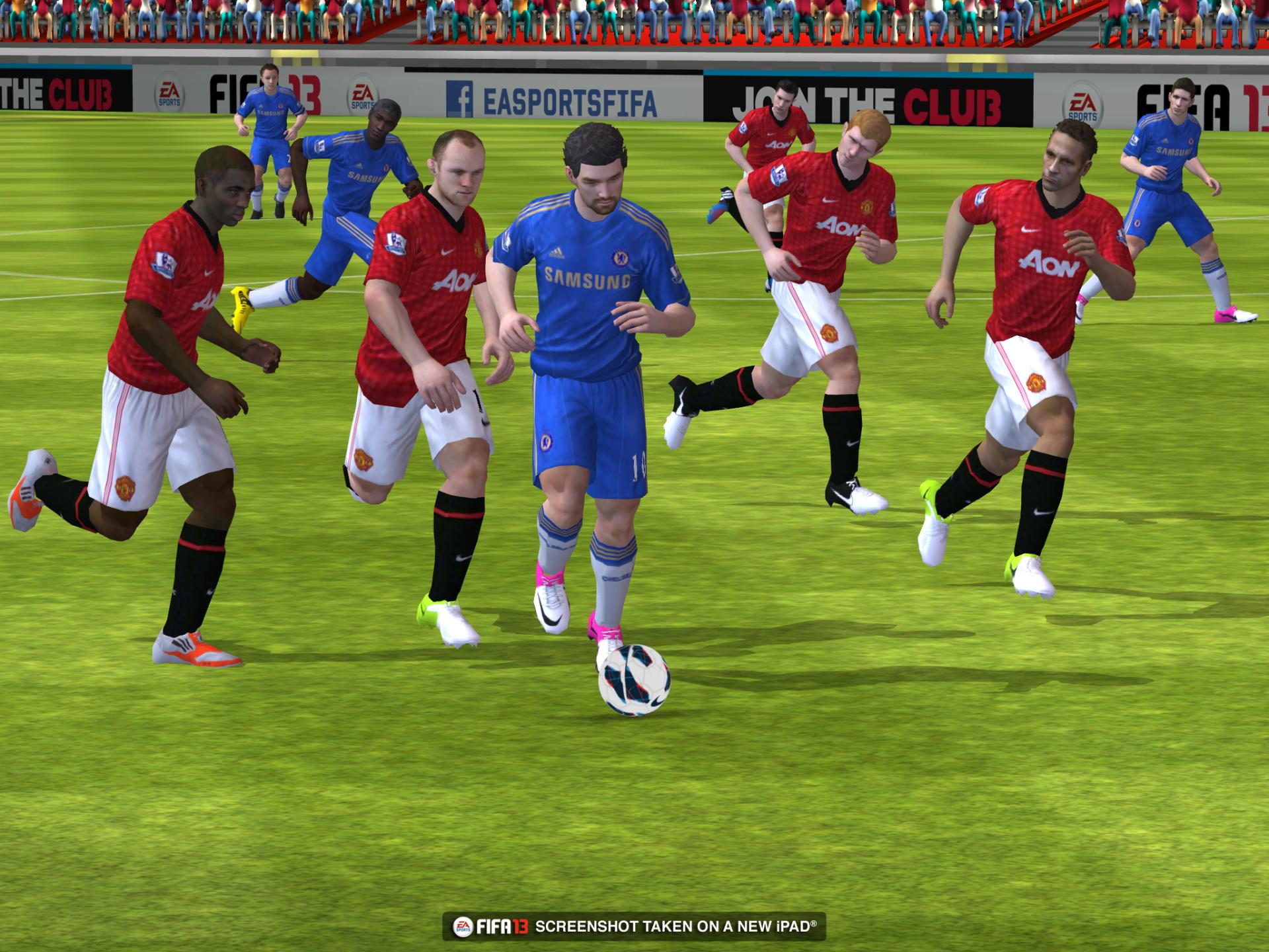Obrázky z iOS verze FIFA 13 70831