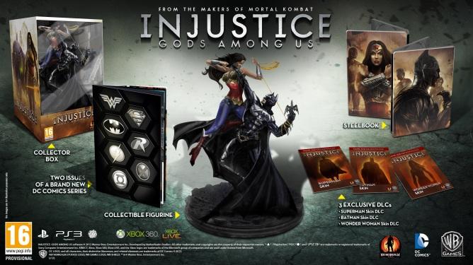 Známe sběratelskou edici Injustice 70850