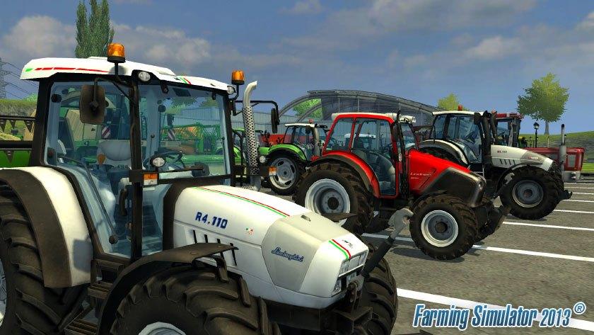 Přehlídka strojů ve hře Farming Simulator 2013 70940