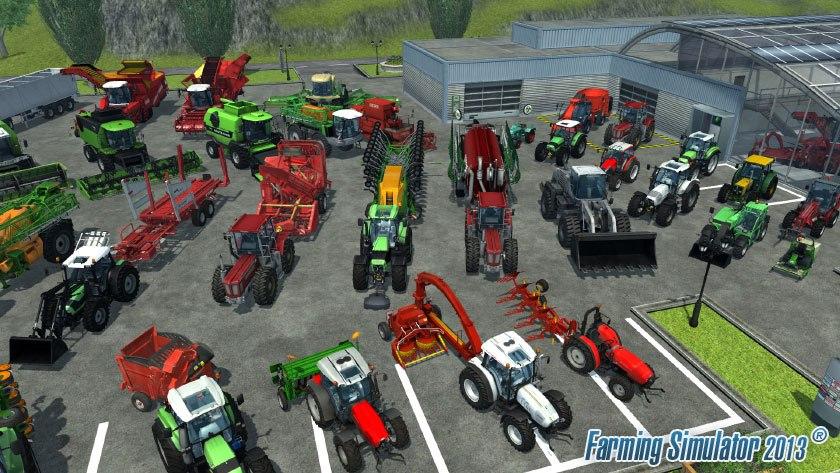 Přehlídka strojů ve hře Farming Simulator 2013 70941