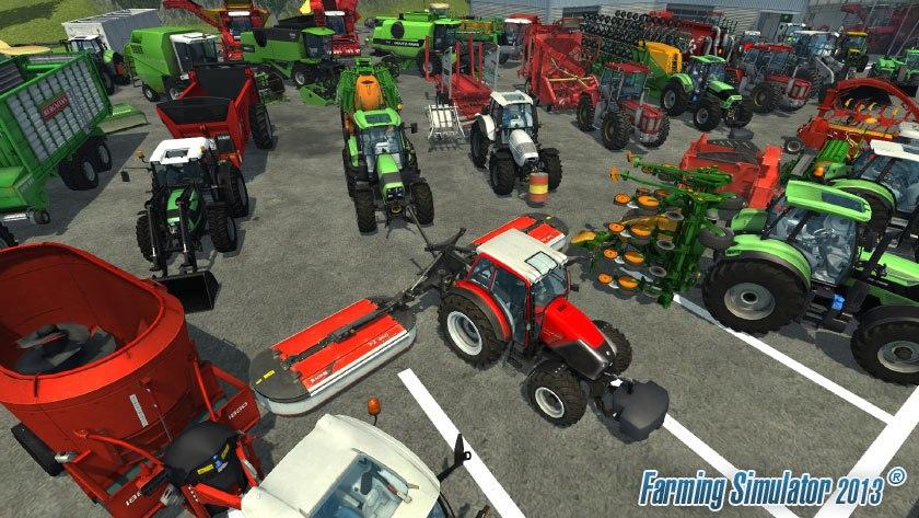 Přehlídka strojů ve hře Farming Simulator 2013 70942