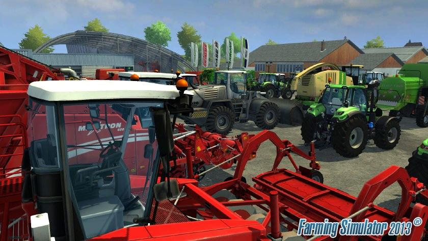 Přehlídka strojů ve hře Farming Simulator 2013 70943