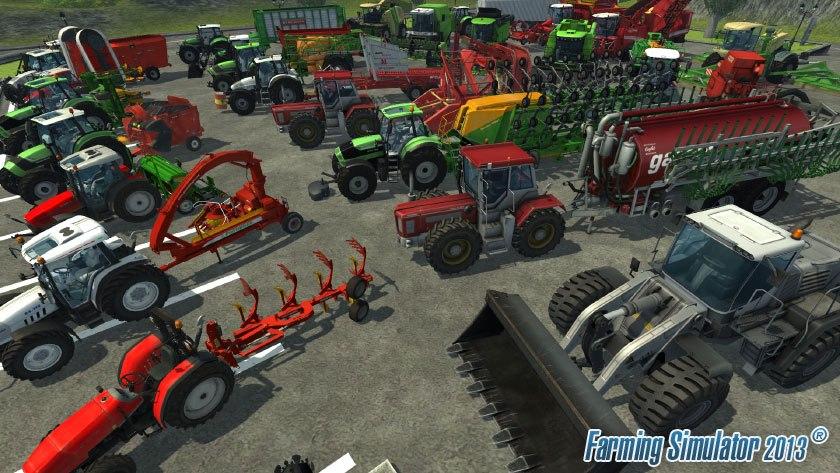 Přehlídka strojů ve hře Farming Simulator 2013 70944