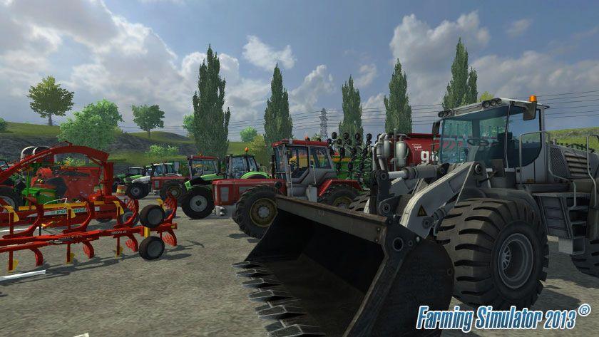 Přehlídka strojů ve hře Farming Simulator 2013 70945