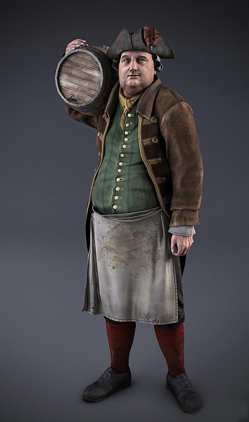 Detaily o městečku Homestead v Assassin's Creed 3 71062