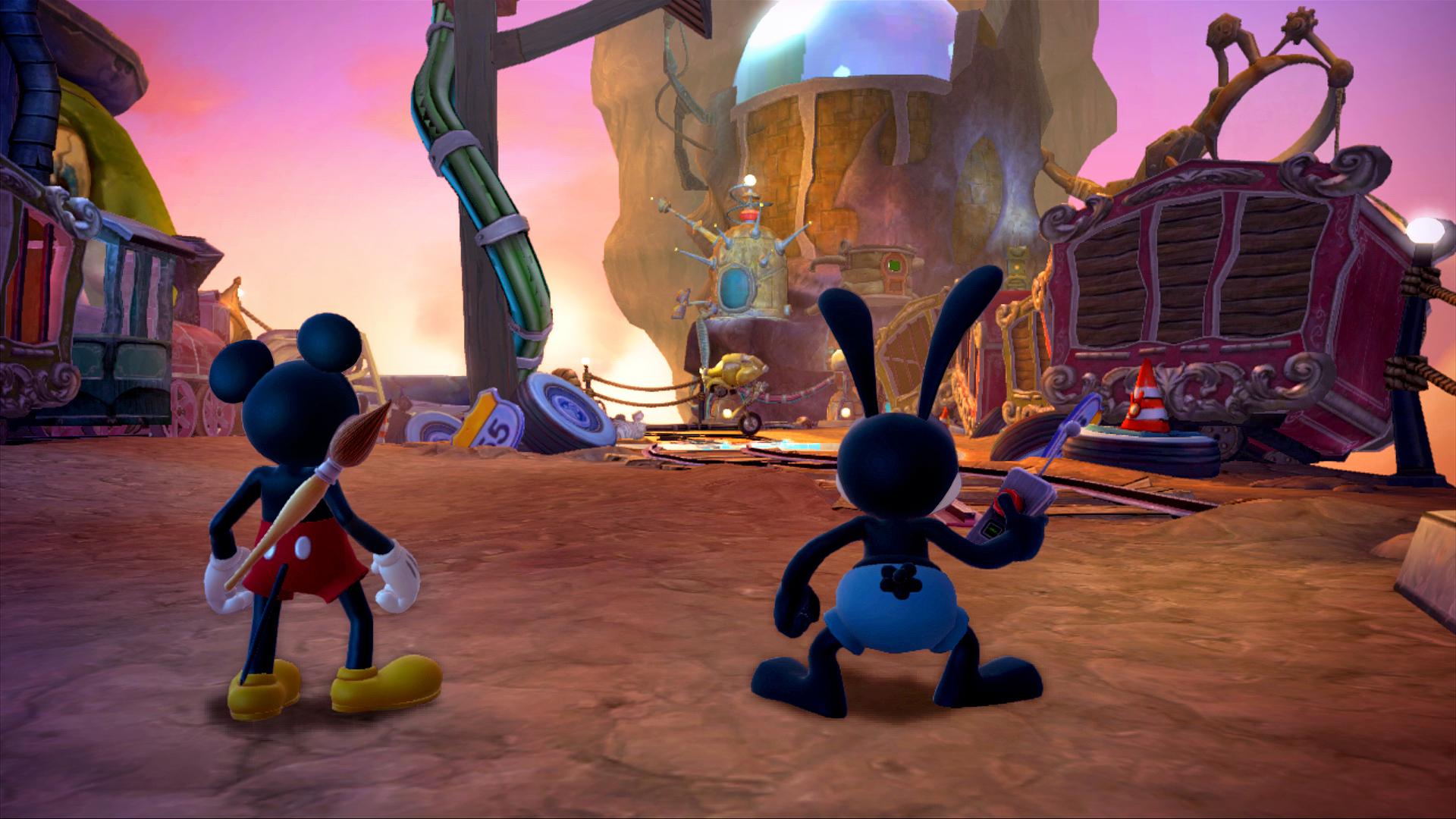 Epic Mickey 2 startovním titulem konzole Wii U 71155