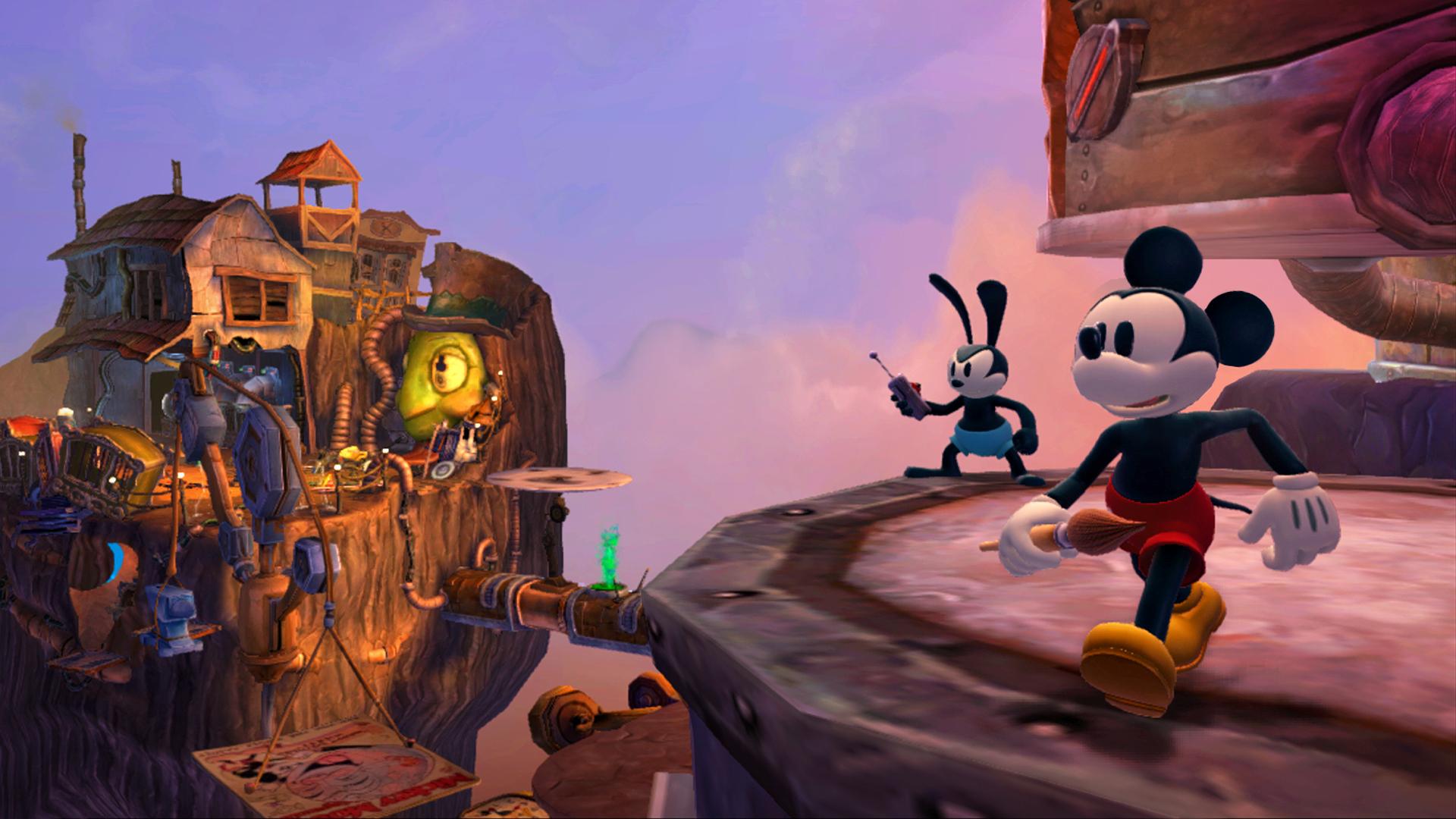Epic Mickey 2 startovním titulem konzole Wii U 71156