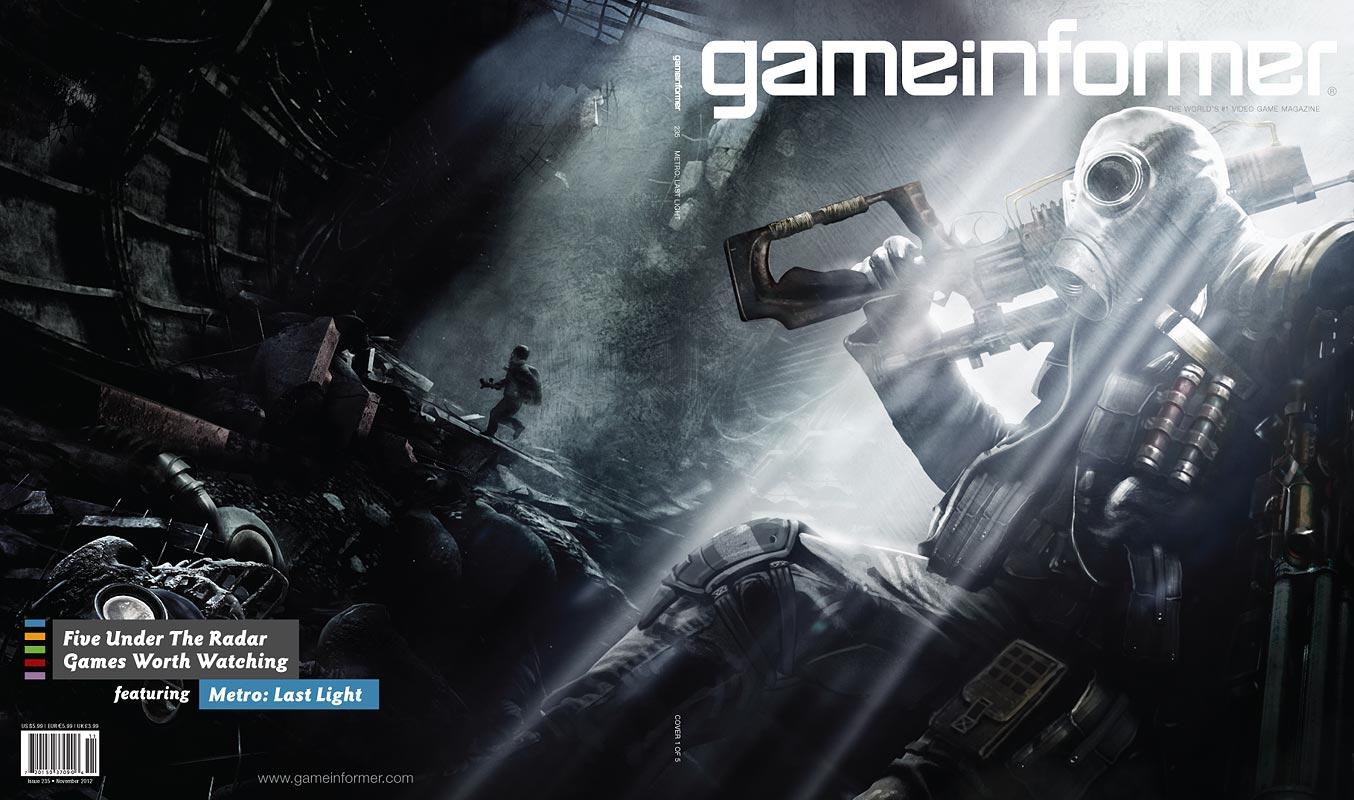 GameInformer láká na pět unikátních obálek 71170