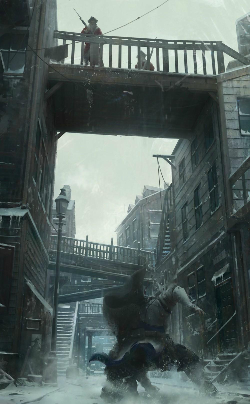 Nové obrázky a artworky z Assassin's Creed 3 71189