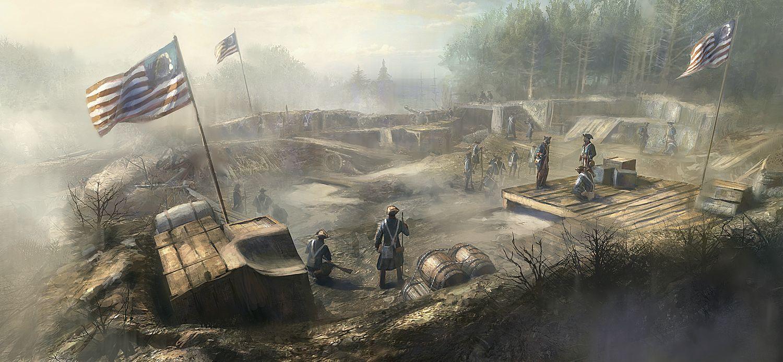 Nové obrázky a artworky z Assassin's Creed 3 71191