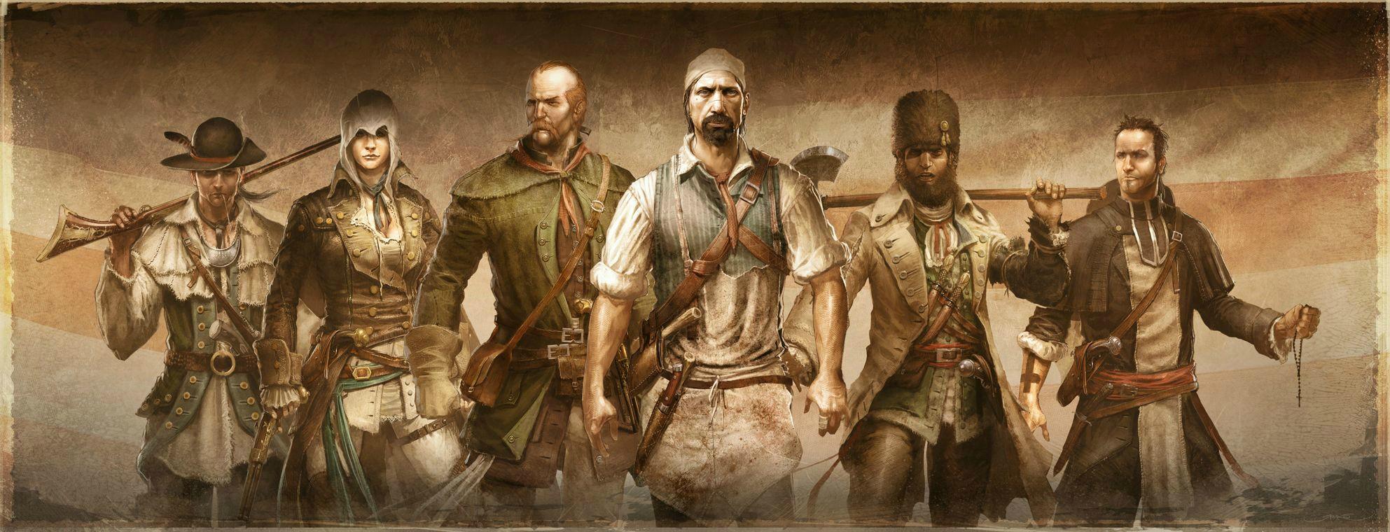 Nové obrázky a artworky z Assassin's Creed 3 71192