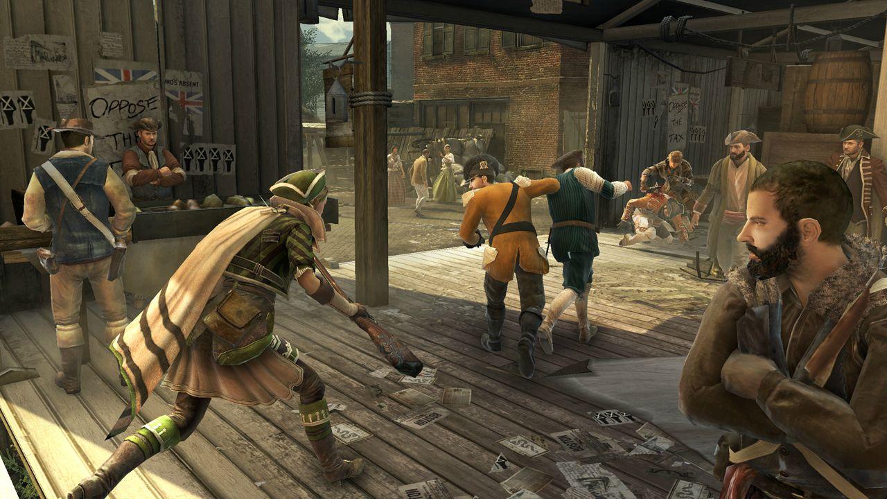Nové obrázky a artworky z Assassin's Creed 3 71197
