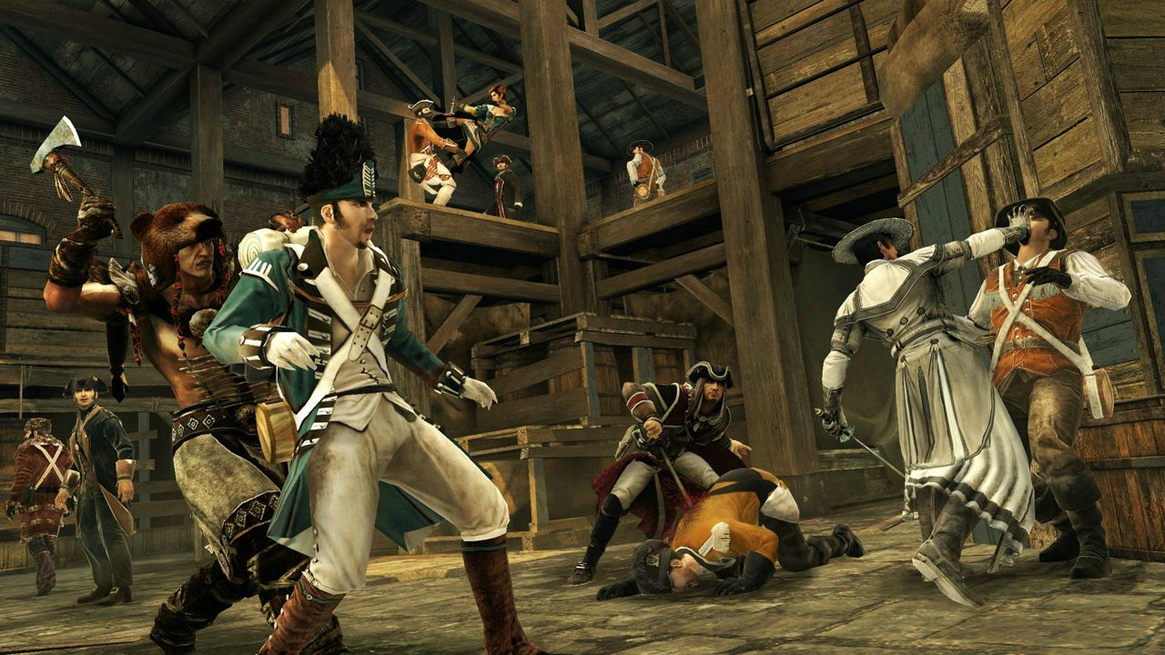 Nové obrázky a artworky z Assassin's Creed 3 71199