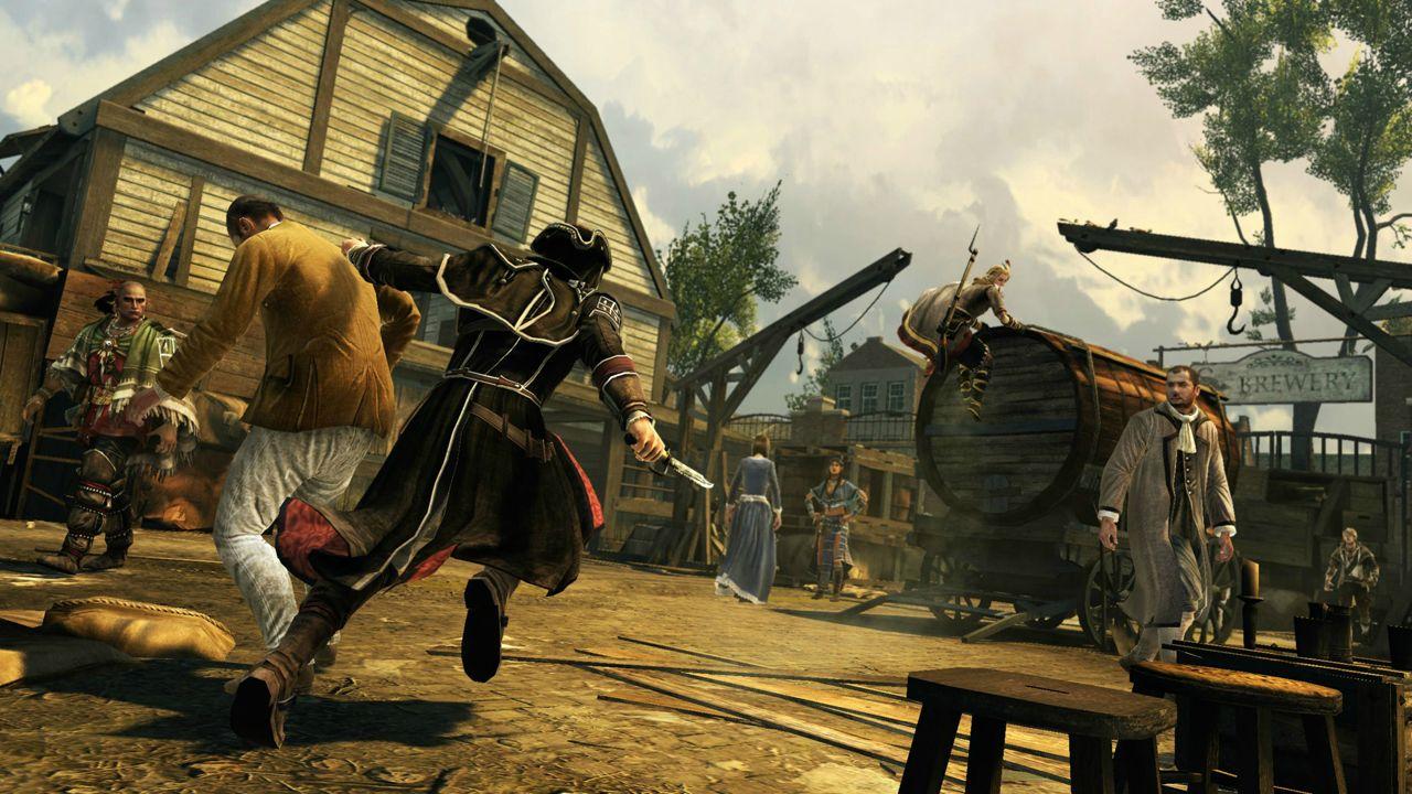 Nové obrázky a artworky z Assassin's Creed 3 71201