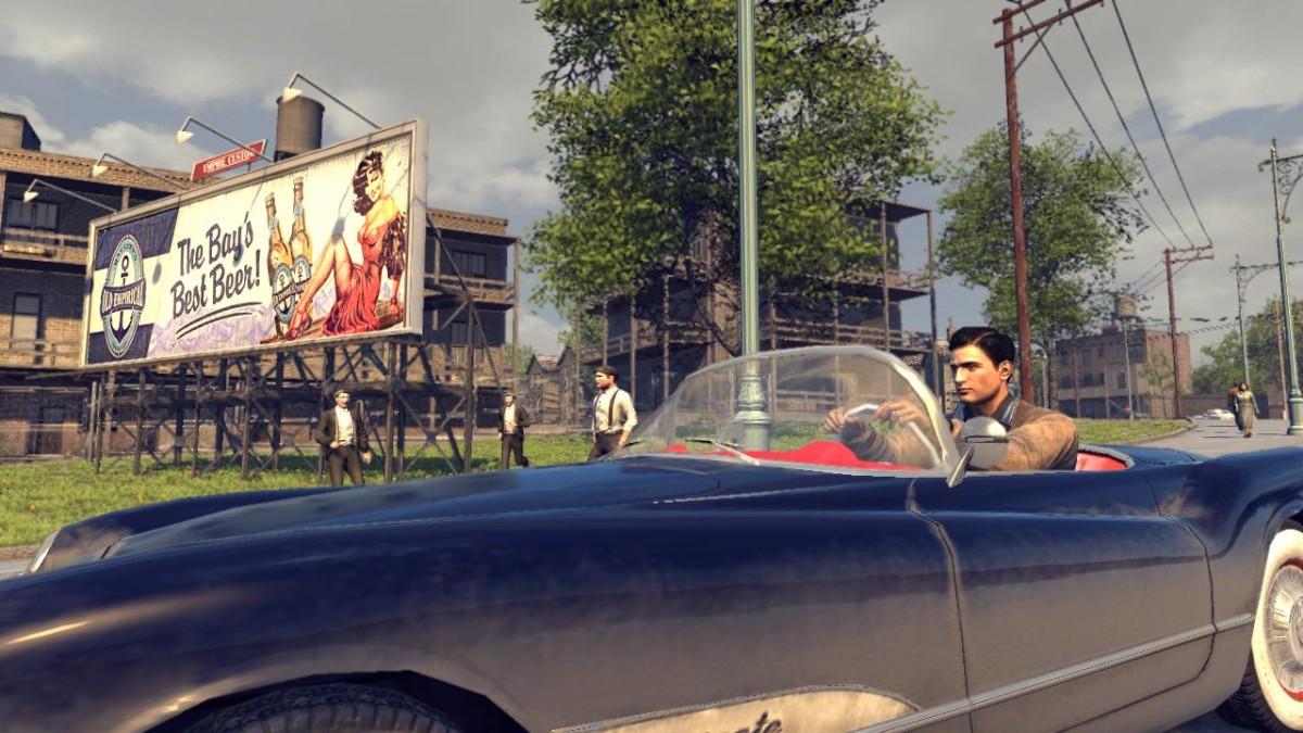 Mafia II ve Velké Británii stále první 7207
