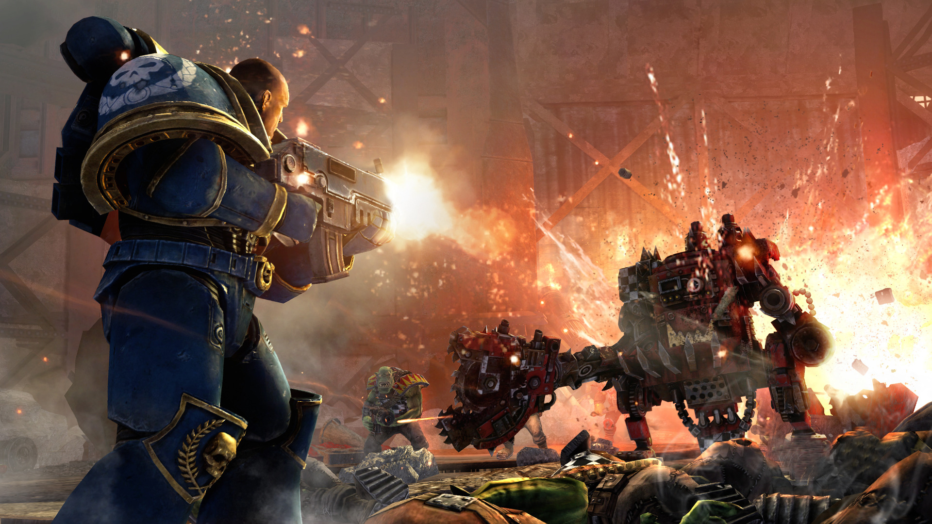 Warhammer 40k: Space Marine i pro PC 7257