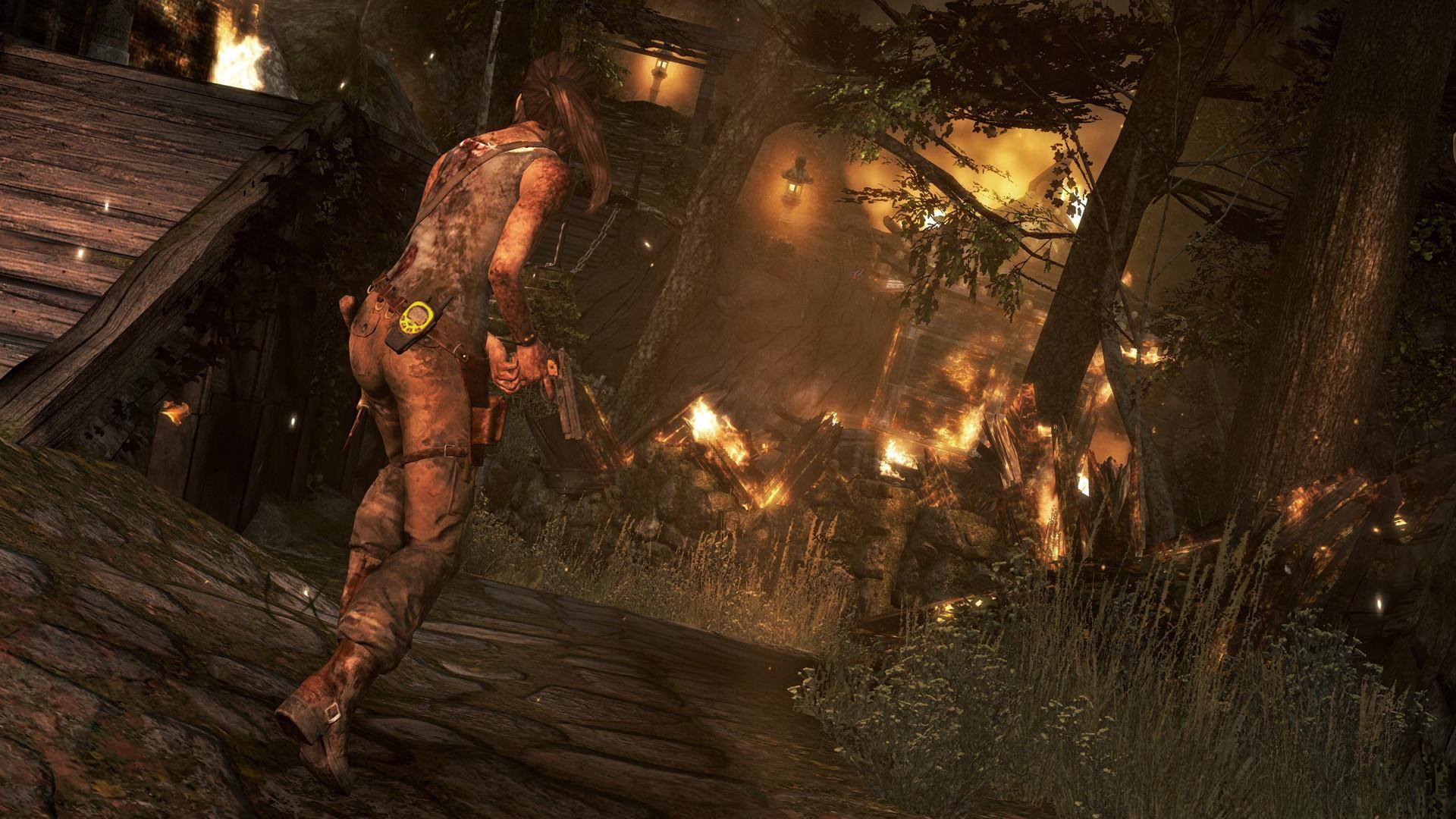 Tomb Raider - těžké začátky 72725