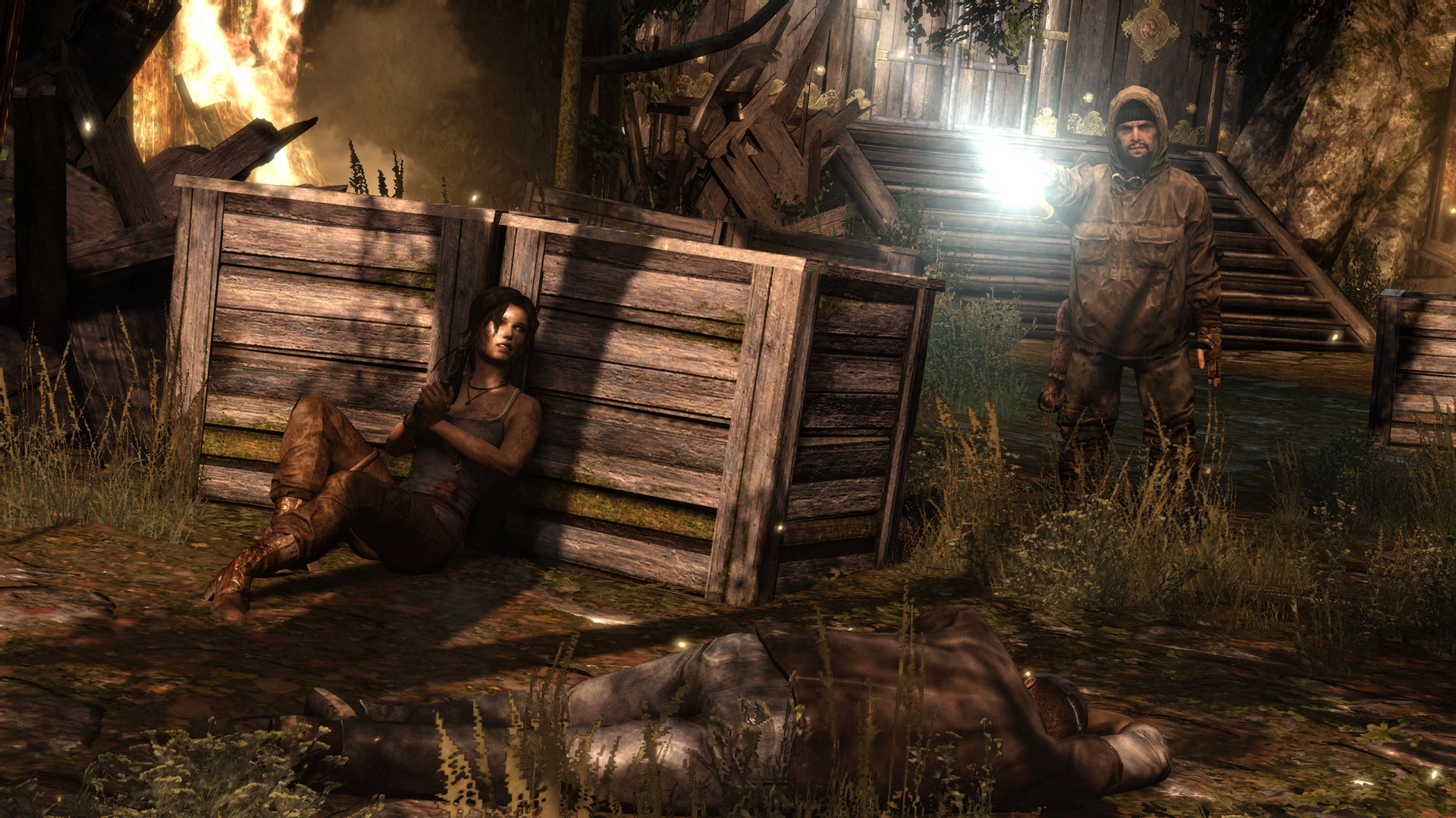 Tomb Raider - těžké začátky 72726