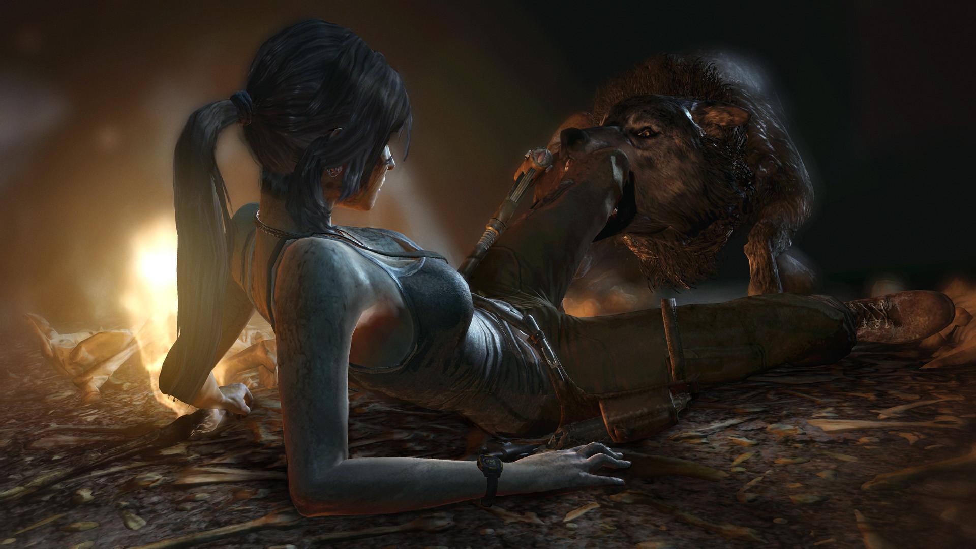 Tomb Raider - těžké začátky 72731