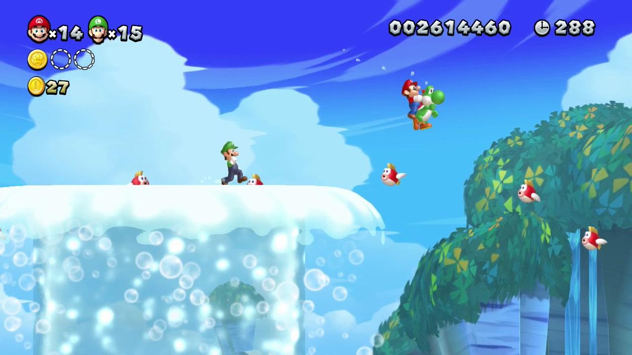 New Super Mario Bros. U – i po letech stále dobré 72896