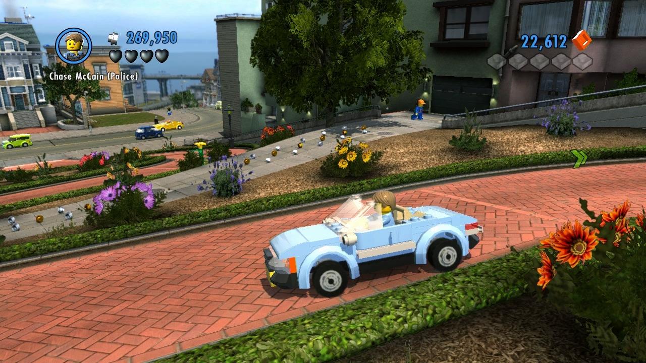 LEGO City Undercover – kostka ke kostce sedá 73284