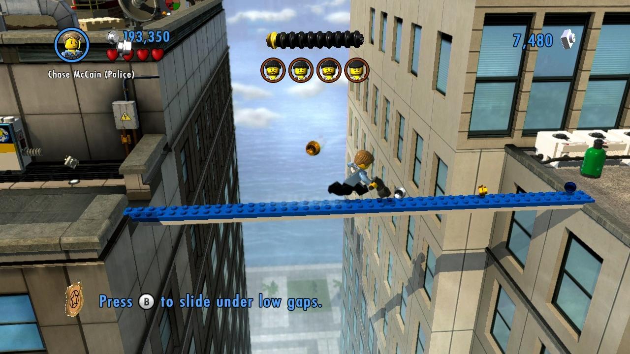 LEGO City Undercover – kostka ke kostce sedá 73285